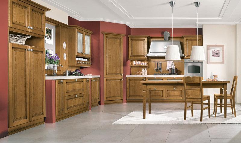 Cucina Classica Castagno - Bottega d\'Arte snc ARREDAMENTI
