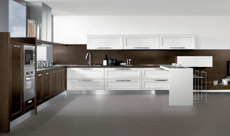 Cucina e living moderno classico bottega d 39 arte snc for Cucina living