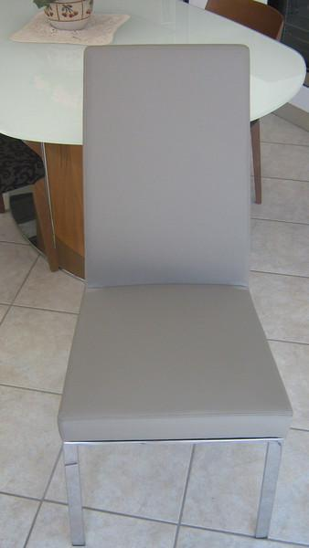 Sedia bess schienale alto gambe cromo bottega d 39 arte snc arredamenti - Sedia bess calligaris ...